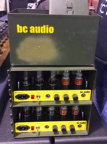 BC Audio ammo case amp