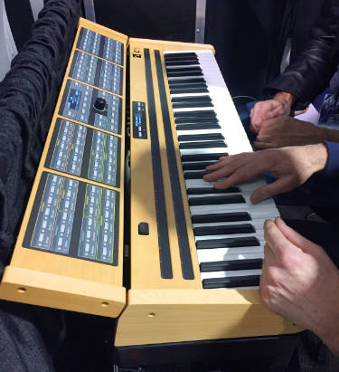 Nonlinear Labs performance keyboard