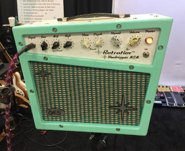 Retrofier guitar amplifier