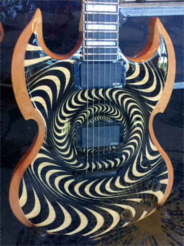Wylde Audio guitar